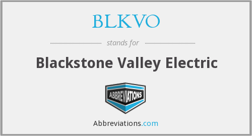 What does BLKVO stand for?