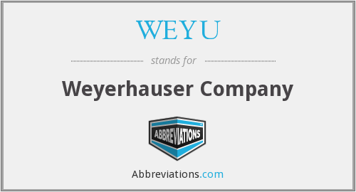 What does WEYU stand for?