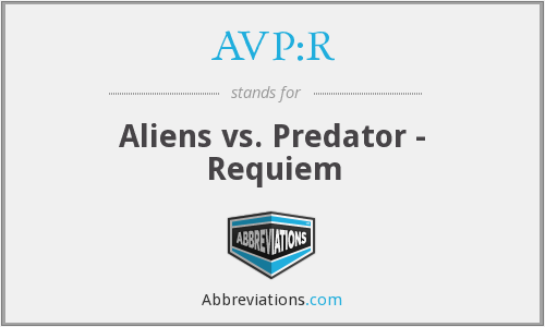 What does AVP:R stand for?