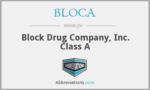 What does BLOCA stand for?