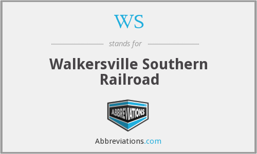 WS - Walkersville Southern Railroad