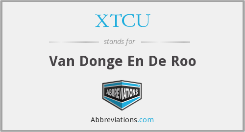 What does XTCU stand for?