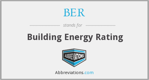 BER - Building Energy Rating