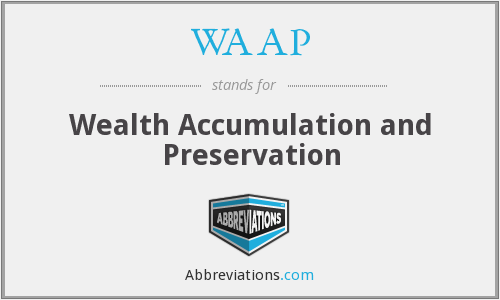 What does WAAP stand for?