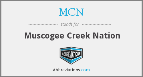 MCN - Muscogee Creek Nation