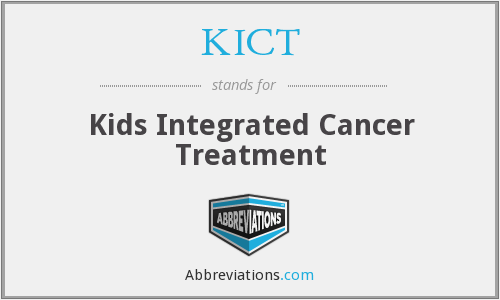 KICT - Kids Integrated Cancer Treatment