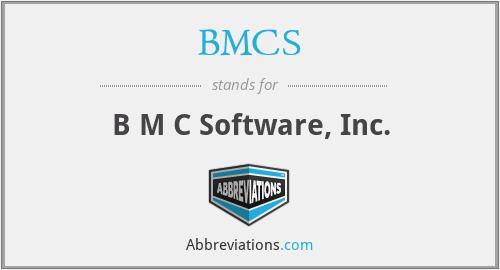 BMCS - B M C Software, Inc.