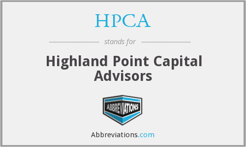 HPCA - Highland Point Capital Advisors