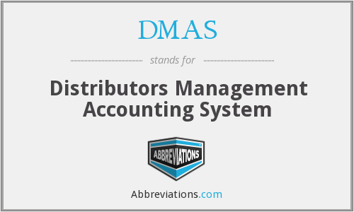 DMAS - Distributors Management Accounting System