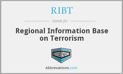 RIBT - Regional Information Base on Terrorism
