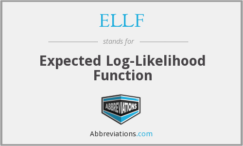 ELLF - Expected Log-Likelihood Function