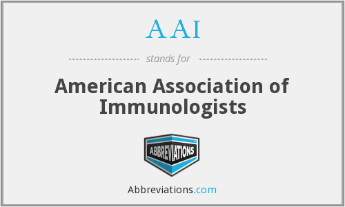 What does AAI stand for?