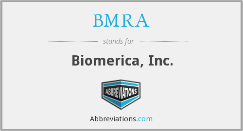 What does BMRA stand for?