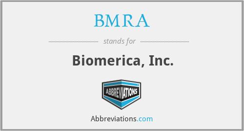 BMRA - Biomerica, Inc.