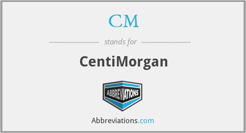 CM - CentiMorgan