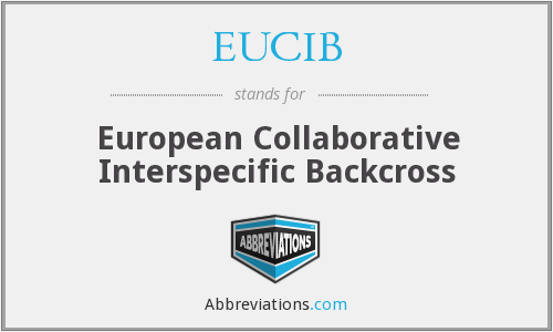 EUCIB - European Collaborative Interspecific Backcross