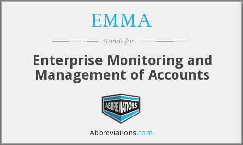 EMMA - Enterprise Monitoring and Management of Accounts