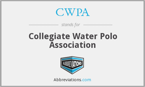CWPA - Collegiate Water Polo Association