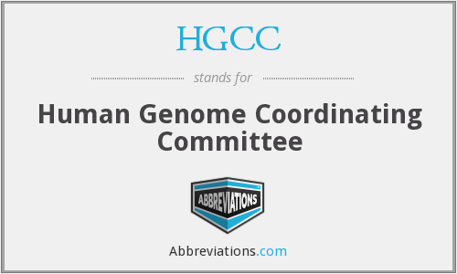 HGCC - Human Genome Coordinating Committee