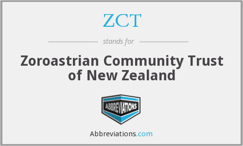 ZCT - Zoroastrian Community Trust of New Zealand