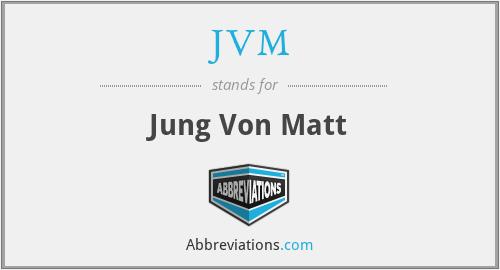 JVM - Jung Von Matt