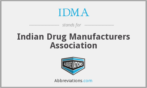 IDMA - Indian Drug Manufacturers Association
