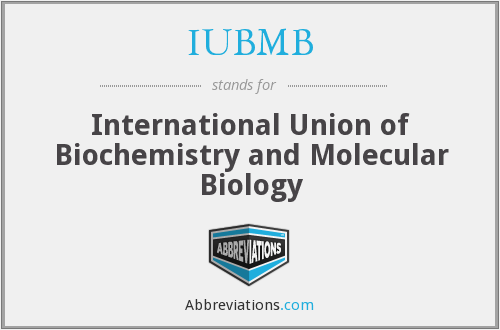 IUBMB - International Union of Biochemistry and Molecular Biology