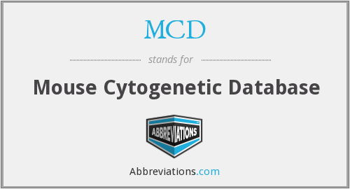 MCD - Mouse Cytogenetic Database