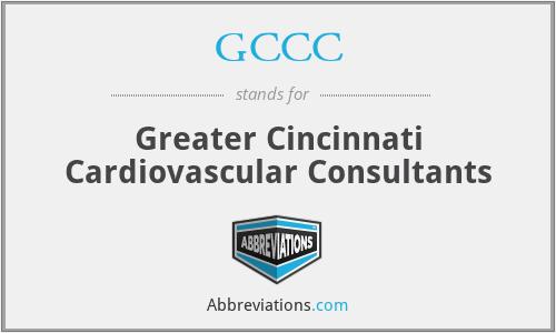GCCC - Greater Cincinnati Cardiovascular Consultants