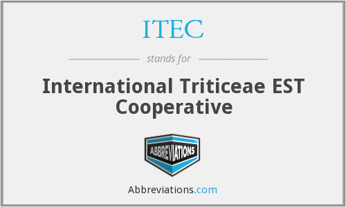 ITEC - International Triticeae EST Cooperative