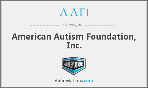AAFI - American Autism Foundation, Inc.