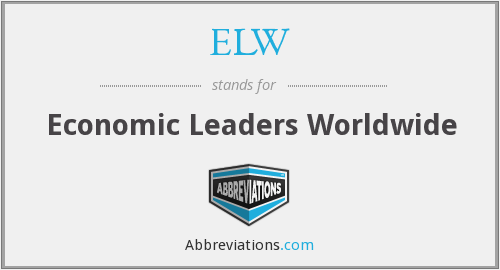 ELW - Economic Leaders Worldwide