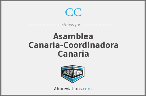 CC - Asamblea Canaria-Coordinadora Canaria