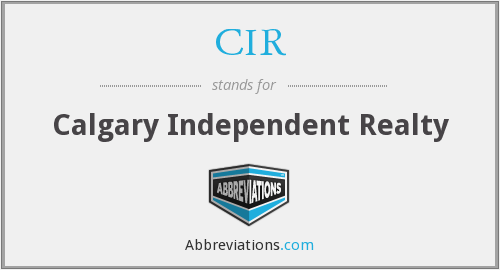 CIR - Calgary Independent Realty