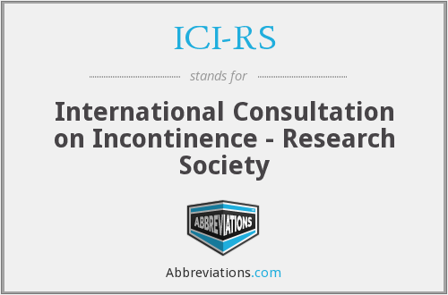 What does ICI-RS stand for?