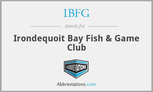 IBFG - Irondequoit Bay Fish & Game Club