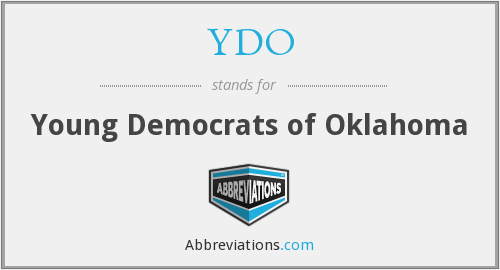 YDO - Young Democrats of Oklahoma