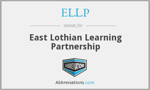 ELLP - East Lothian Learning Partnership