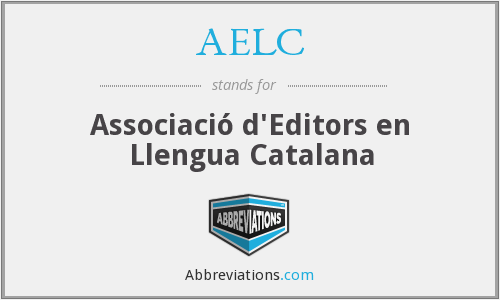 AELC - Associació d'Editors en Llengua Catalana