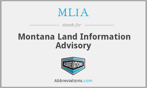 MLIA - Montana Land Information Advisory