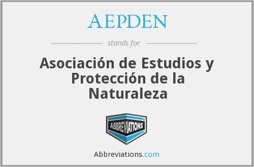 What does AEPDEN stand for?