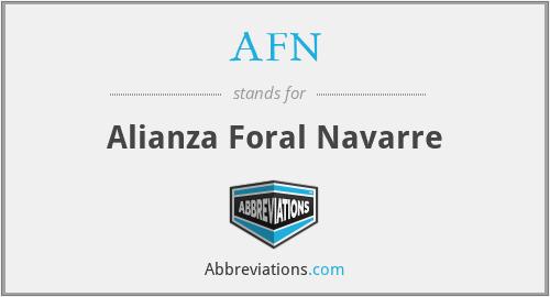 AFN - Alianza Foral Navarre