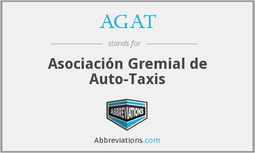 AGAT - Asociación Gremial de Auto-Taxis