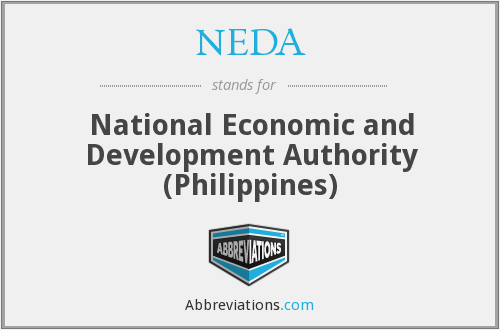 NEDA - National Economic and Development Authority (Philippines)