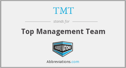 TMT - Top Management Team