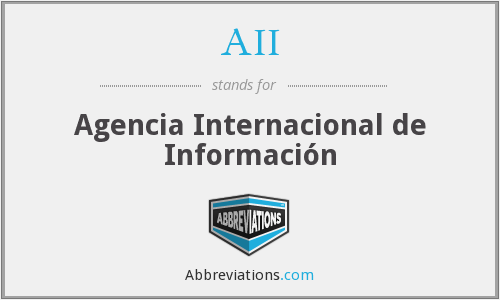 AII - Agencia Internacional de Información