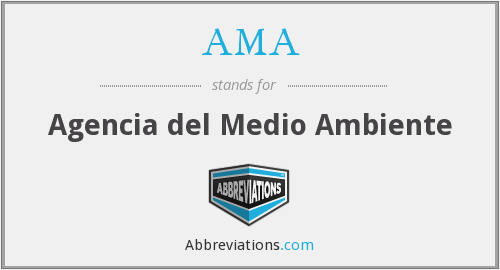 AMA - Agencia del Medio Ambiente