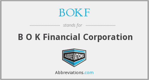 What does BOKF stand for?