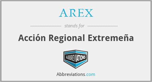 AREX - Acción Regional Extremeña