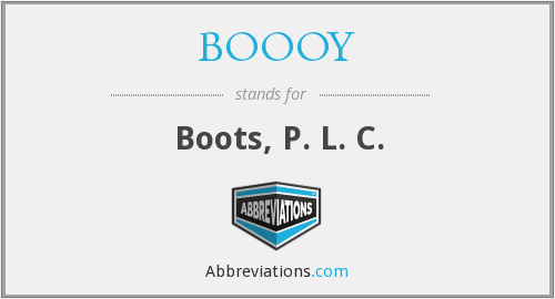 What does BOOOY stand for?